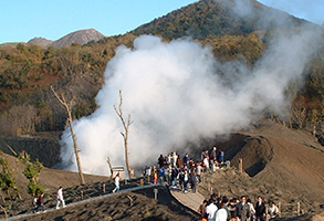 Disaster Monuments at Konpira Craters・Konpira Craters・Craters at the Foot of Mt. Nishiyama