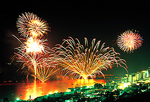 Toyako Long-Run Fireworks Display