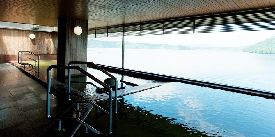 湖 湖畔 亭 洞爺